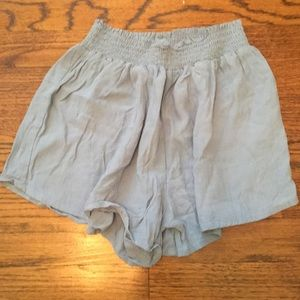Forever 21 Flowy Light Blue Shorts